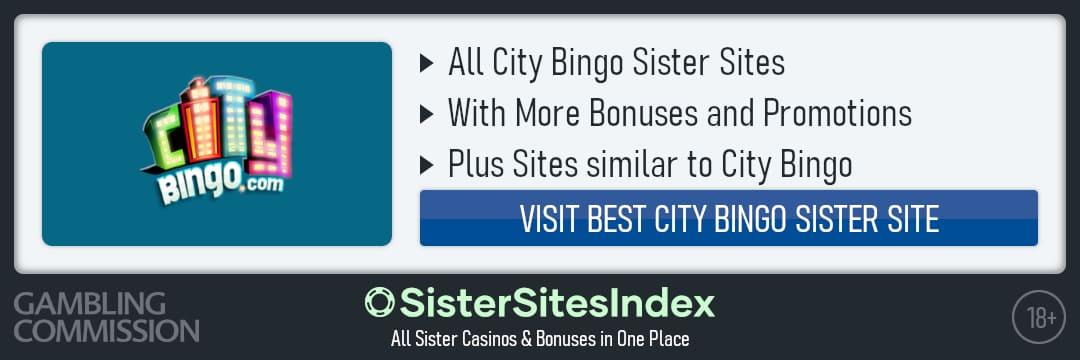 City Bingo sister sites