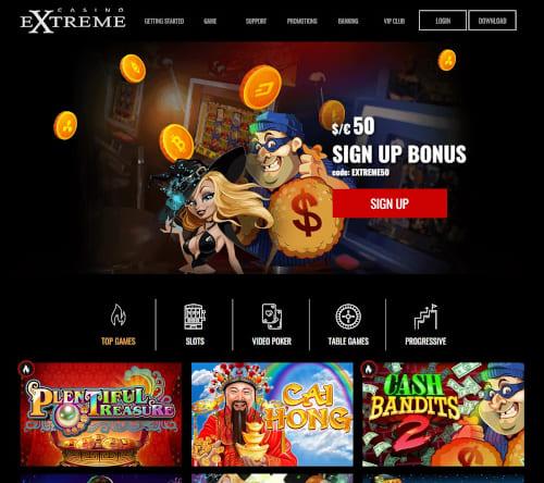 Extreme Casino Bonuses