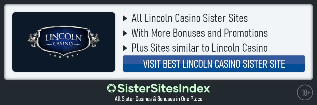 Lincoln Casino sister sites
