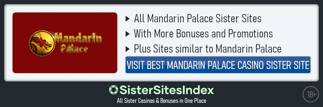 Mandarin Palace sister sites