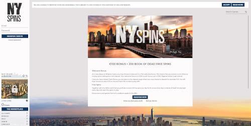 NY Spins Bonuses