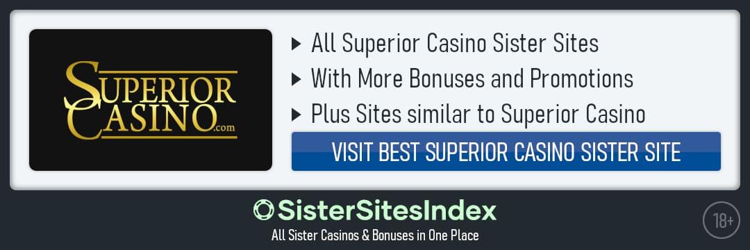 Superior Casino sister sites