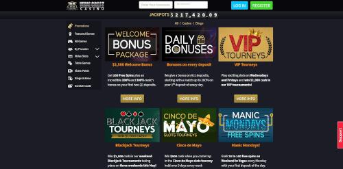 Vegas Crest Promotions