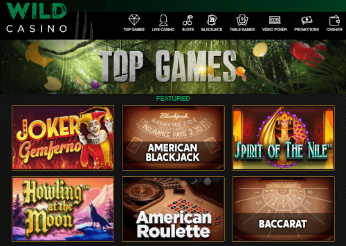 Wild Casino Games