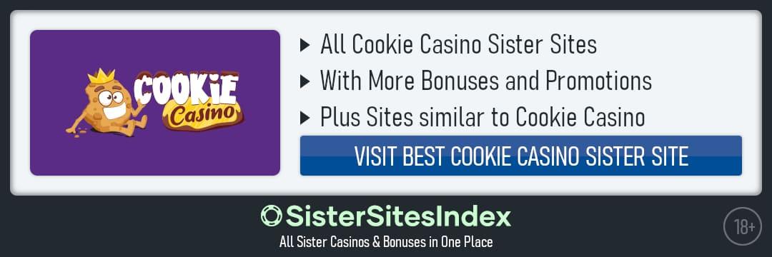 Cookie Casino sister sites