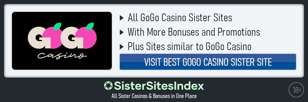 GoGo Casino sister sites