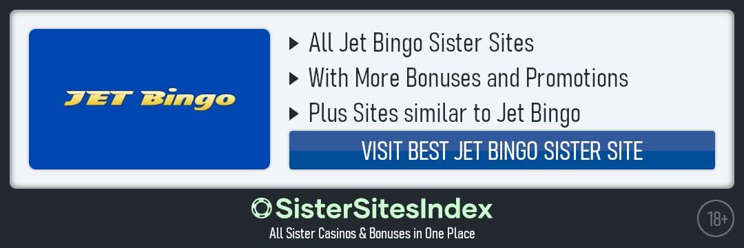 Jet Bingo sister sites