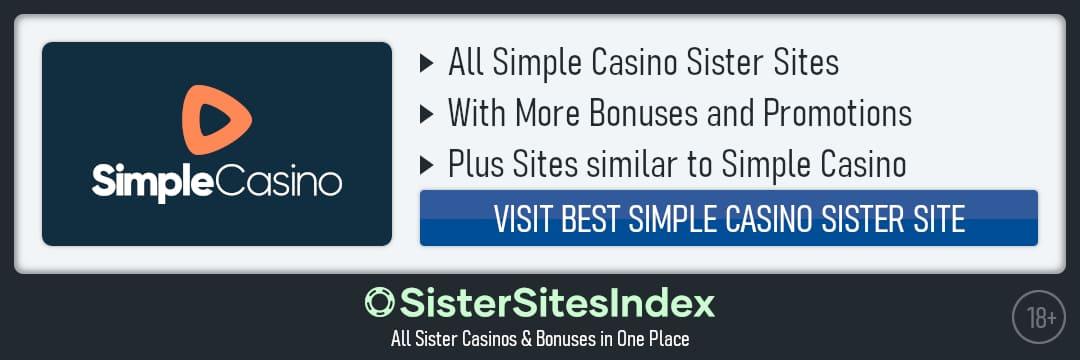 Simple Casino sister sites
