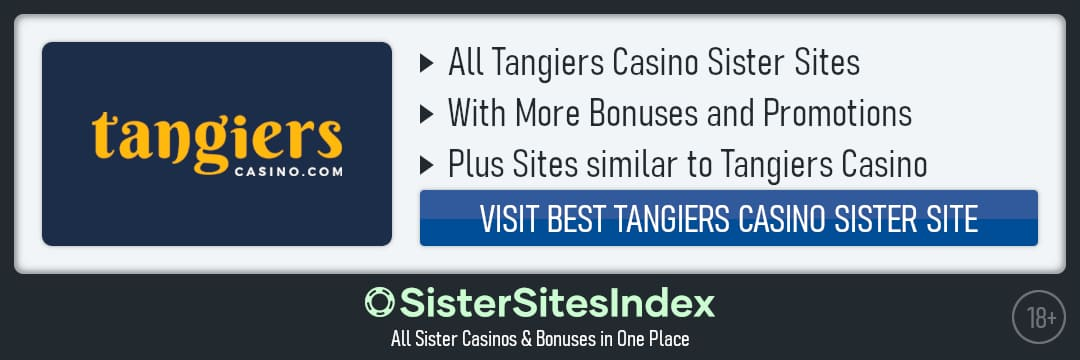 Tangiers Casino sister sites