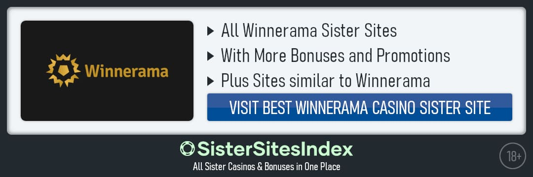 Winnerama sister sites