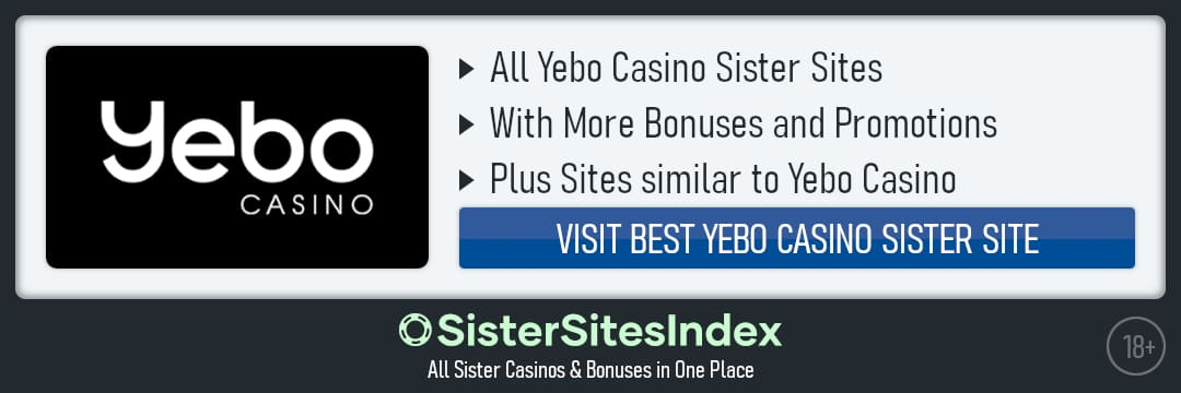 Yebo Casino sister sites