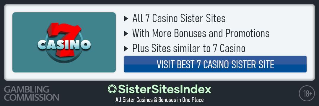 7 Casino sister sites