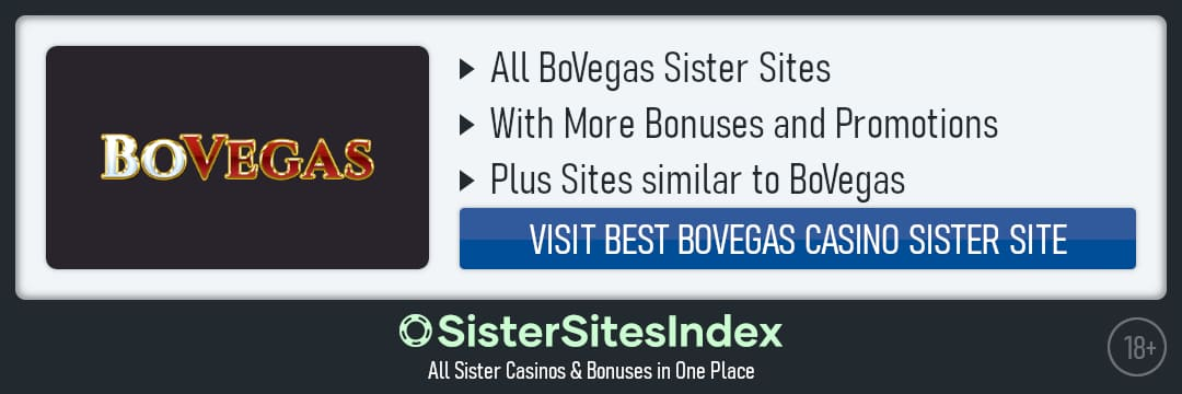 BoVegas sister sites