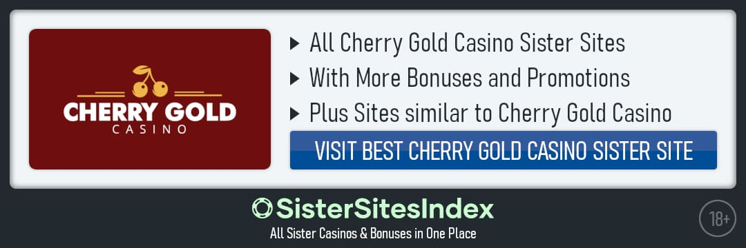 Cherry Gold Casino sister sites