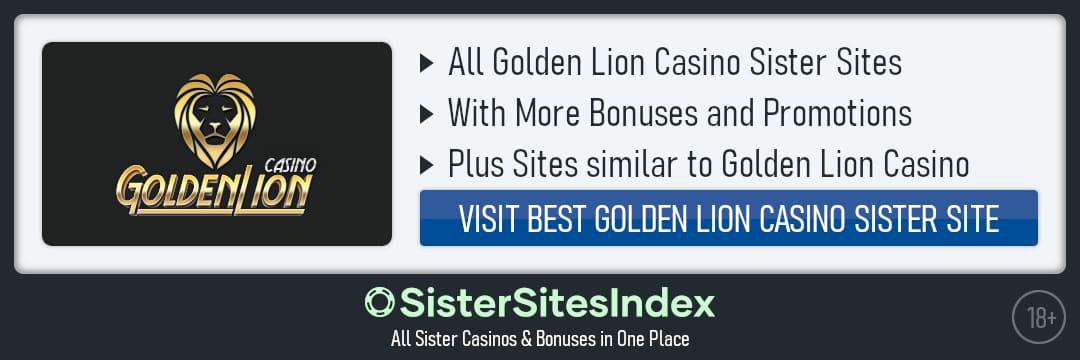 Golden Lion Casino sister sites