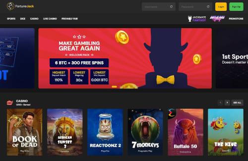 FortuneJack Casino Bonuses