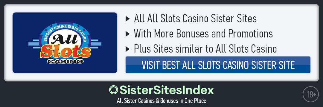 All Slots Casino sister sites