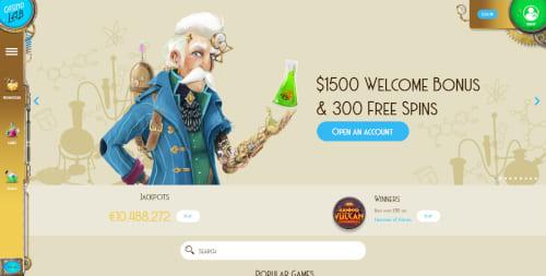Casino Lab Welcome Bonus
