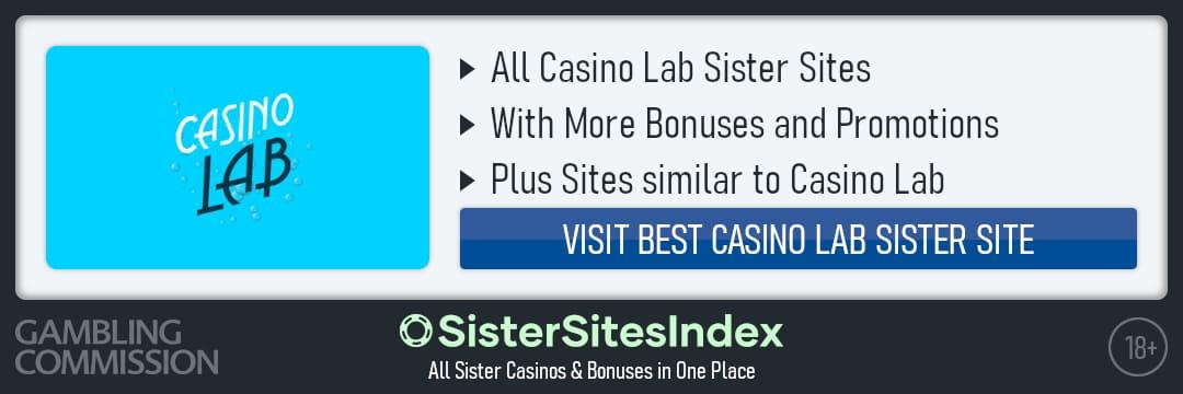 Casino Lab sister sites