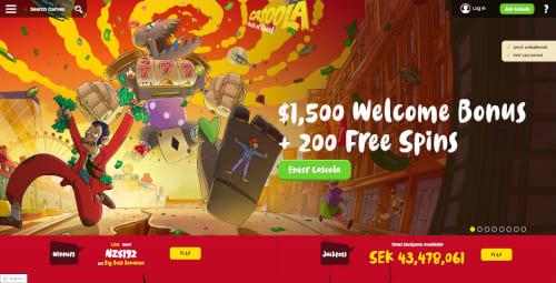 Casoola Welcome Bonus