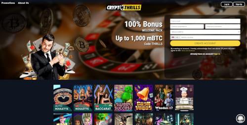 Crypto Thrills Casino Bonuses