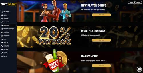 Crypto Thrills Promotions