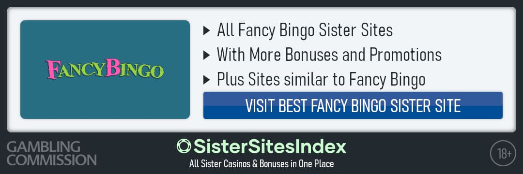 Fancy Bingo sister sites