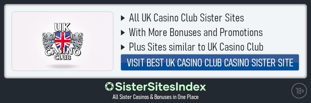 UK Casino Club sister sites