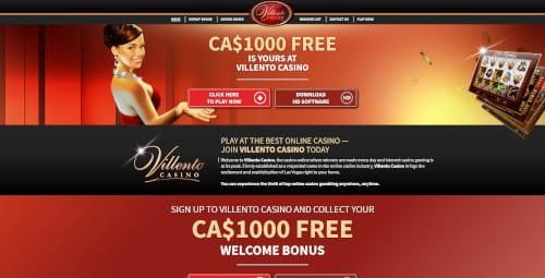 Villento casino Bonuses