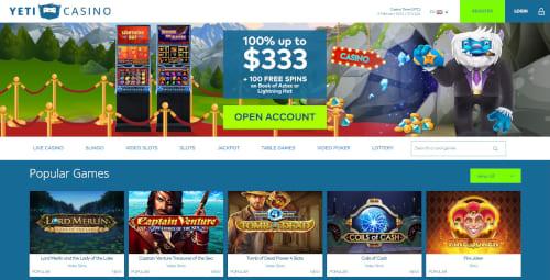 Yeti Casino Bonuses