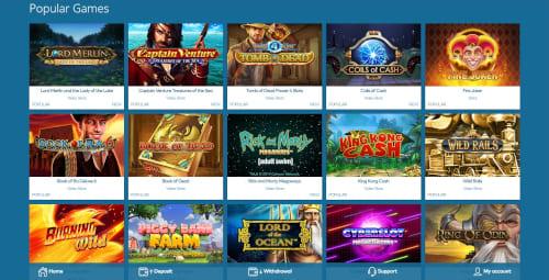 Yeti Casino Games
