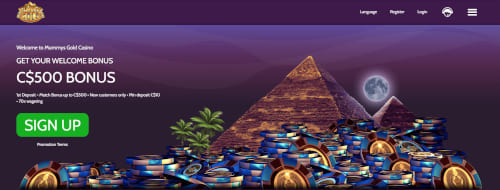 Mummys Gold Bonuses