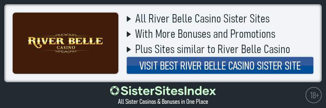 River Belle Casino sister sites