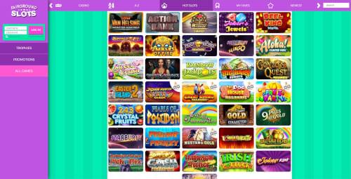 Fairground Slots games