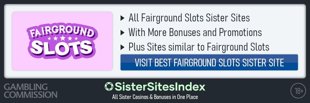 Fairground Slots sister sites