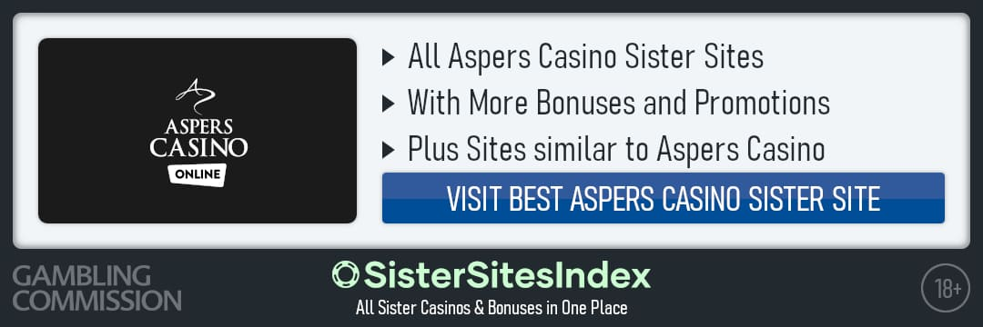 Aspers Casino sister sites