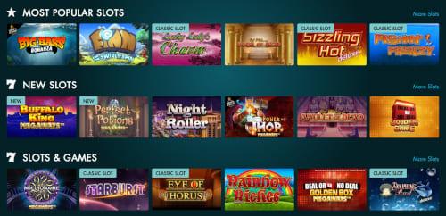 Grosvenor Casinos Games