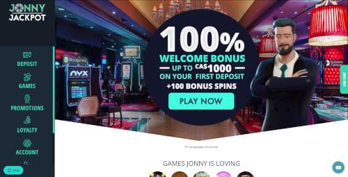 Jonny Jackpot Casino Bonus