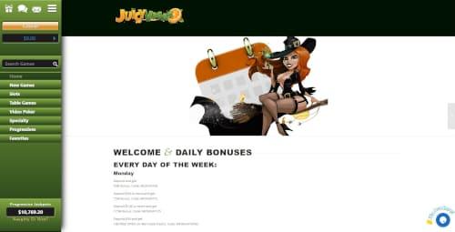 Juicy Vegas Welcome Bonus