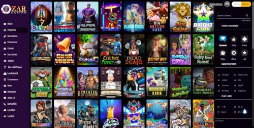 ZAR Casino Games