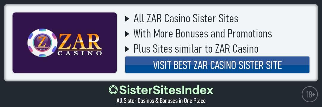 ZAR Casino sister sites