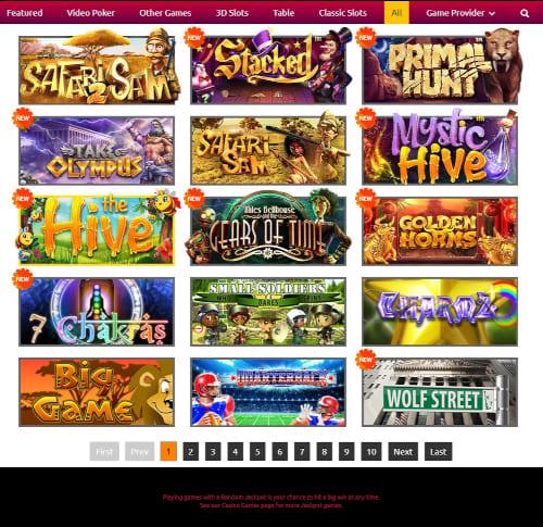 Funclub Casino Games
