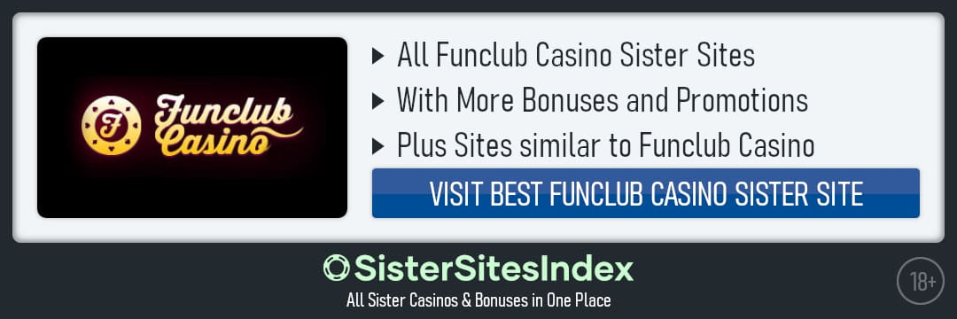 Funclub Casino sister sites