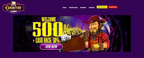 High Country Casino Bonus