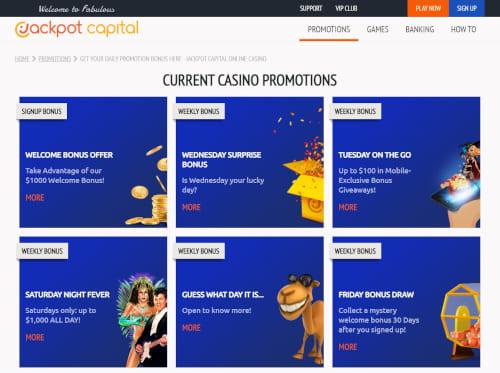 Jackpot Capital Bonus