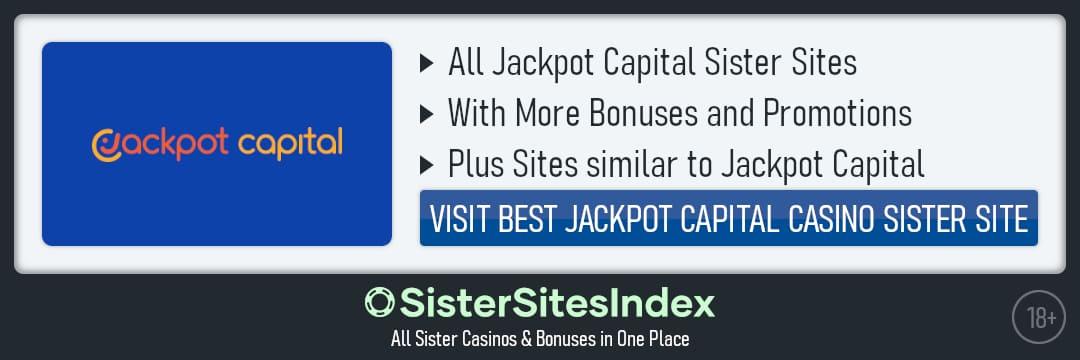 Jackpot Capital sister sites