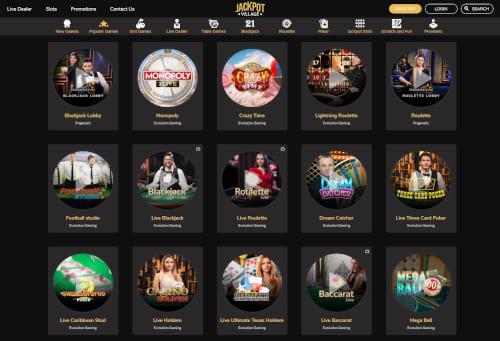 Jackpot Village Live Casino