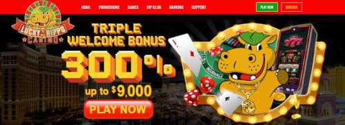 Lucky Hippo Casino Bonus