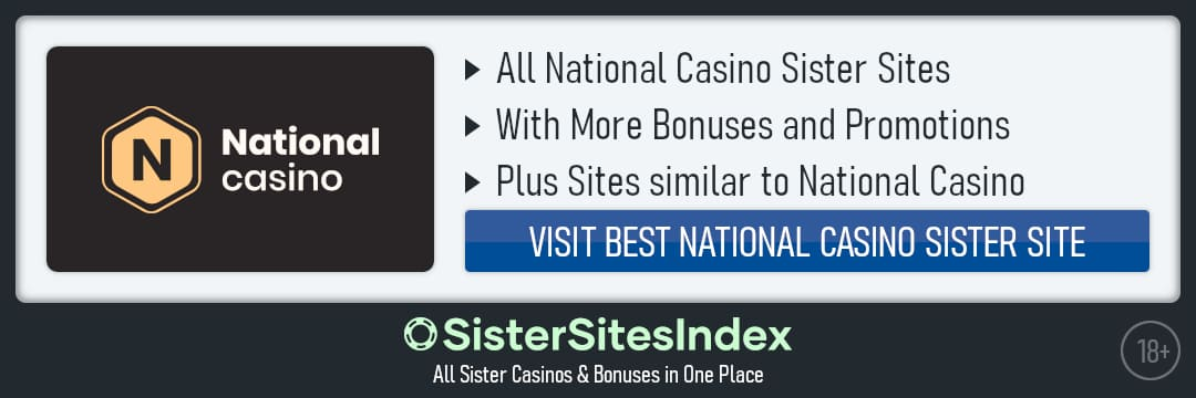 National Casino sister sites