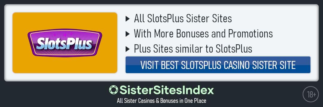 SlotsPlus sister sites